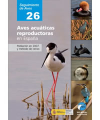 Aves acuáticas reproductoras en España