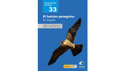 El halcón peregrino en España