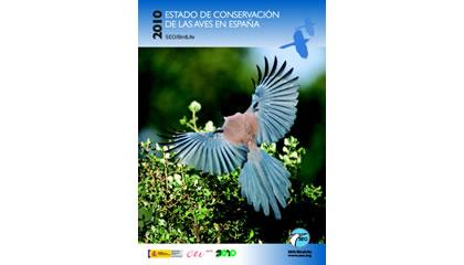 Estado de conservación de las aves en España en 2010