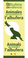 L'Albufera de València. Animales que encontramos en l'Albufera