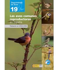 Las aves comunes reproductoras en España