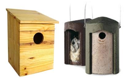 Cajas-nido para aves